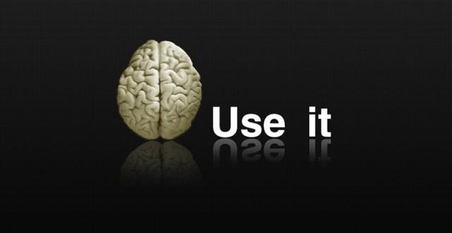 Foloseste-l sau il pierzi - creier